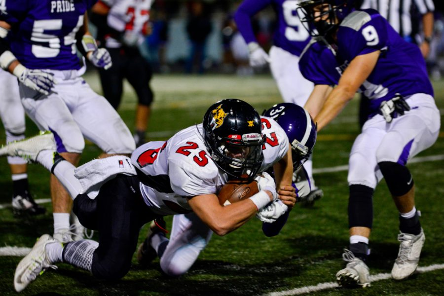 CV loses, but town wins under Friday night lights