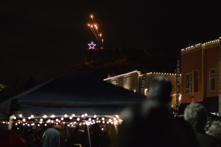 """Everyone attending the Starlighting on Nov. 22 found a spot to watch the annual event take place. For Debra Dean, a parent, it was the top of a parking garage in downtown Castle Rock. """"It was the perfect place to escape the crowd and watch the star light up,"""" she said. """"It was just me, my family and some close friends. The Starlighting is always a great reminder of how special our little town and the people who live in it are."""""""