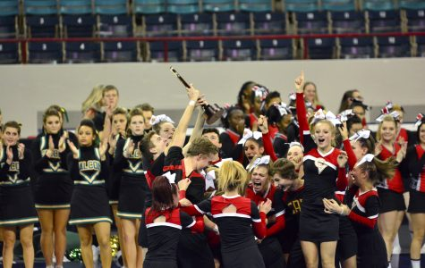 Co-ed cheer wins first state title in CV history