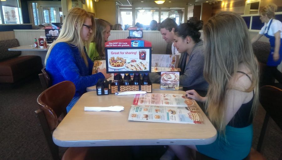 IHOP caters to Castle View students with free pancakes