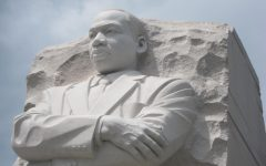 """Martin Luther King Jr. stood for peaceful protesting. The riots in the Capitol differ sharply from his view. """"There is for sure a lot to compare about the BLM summer protests to the riot in the Capitol,"""" Avery White said. """"It's horrible that the rioters were called protesters for so long instead of terrorists."""" Photo courtesy of Unsplash."""